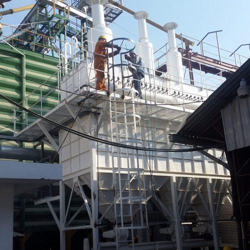 Proyectos de ventilación, filtros de magas y ciclones