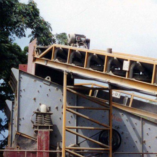 Proyectos de transporte y elevación de productos industriales