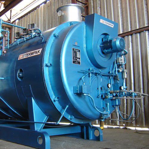 Proyectos de generación de vapor y calderos